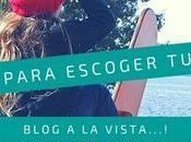 Consejos para escoger plantilla blog