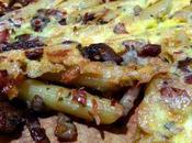 Tortilla macarrones fácil Frittata penne porcini