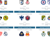 Fechas horarios trasmision jornada futbol mexicano