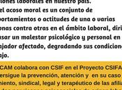 CSIF PRIDICAM, firman acuerdo colaboración para prestar atención afiliados afectados acoso laboral