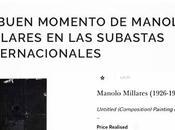 buen momento Manolo Millares subastas internacionales