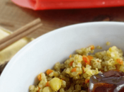 Quinoa verduritas dátiles