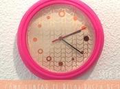 DIY: cómo tunear reloj Rusch Ikea.
