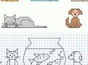 Dibujos cuadrícula