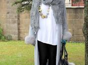 looks- look maxi abrigo gris punto aparte
