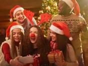 Accesorios para selfies divertido Navidad