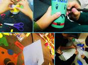 Reciclando tubos cartón