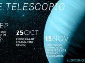 """Charla """"Gas polvo cósmico: origen sistemas planetarios"""" observación UDP, Santiago"""