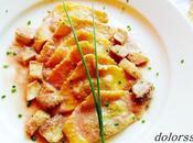 Pasta fresca triangolini porcini salsa vino ceps