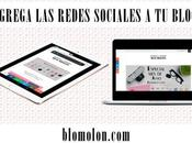 Agrega Redes Sociales Blog