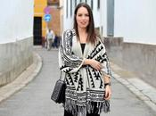 Outfit Ethnic poncho