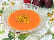 Gazpacho mango kikos