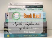 Book Haul agosto, septiembre octubre 2016
