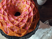 Bundt cake Cava rosa frambuesas