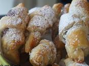 Croissants hojaldre rellenos Nutella