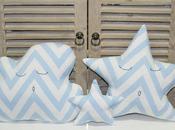 Estrellitas nube rayas blanca azul. #proyectos blog jess, shop.