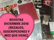 Revistas Diciembre 2016 (Regalos, suscripciones viene)