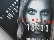 Reseña método 15/33 Shannon Kirk