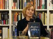"autora Ángela Armero presenta ""Anochece parques"""