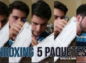 Youtube Unboxing paquetes