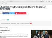 Puntos destacados Consejo Europeo Noviembre sobre Juventud Educación