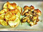 Pollo romero patatas chips