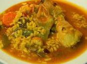 Receta arroz pollo verduras