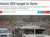 Israel ataca ISIS Siria.