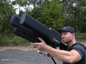 DroneGun bloquea drones volando frecuencias también puede bloquear