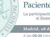 participación pacientes Sistema Nacional Salud #JornadaAGP