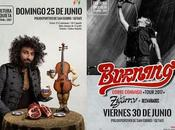 Festival Cultura Inquieta 2017: Malikian, Burning, Zigarros, Desvariados...