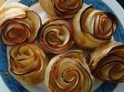 Receta Rosas Hojaldre manzana