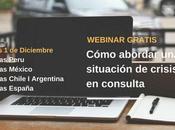 Conferencia online: cómo abordar situaciones crisis consulta