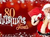 Tipografías Gratuitas Felicitar Navidad