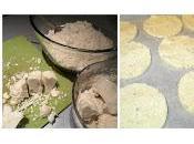 Tortitas coliflor aroma albahaca
