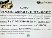 "Curso ""Bienestar Animal Transporte"" Chillón"