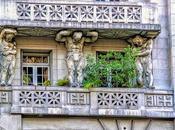 Esculturas ornamento edificios
