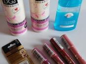 Compras maquillalia: jordana, milani, ziaja organics