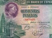 Cardenal Cisneros Catedral Toledo billete pesetas 1928