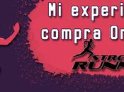 experiencia compra Online Street Running.
