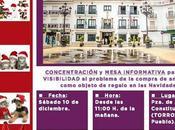 Jornada concienciación Torrox (Málaga). Diciembre.