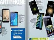 Oferta Smartphone libres Carrefour, Precios