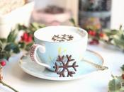 Navidad Copos nieve chocolate