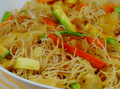 Receta Fideos verduras salsa soja