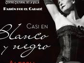 [Casi blanco negro], espectáculo burlesco Alessia Desogus trae Teatro Fernán Gómez.