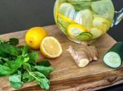 Infusiones naturales caseras para reducir grasa abdomen