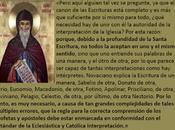 tenemos Biblia necesaria Iglesia? Vicente Lerins responde.