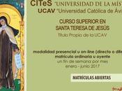 Curso Superior Santa Teresa Jesús