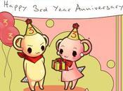 ¡Tercer aniversario blog!