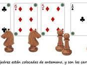 acertijo cartas piezas ajedrez… ¿Quieres solución?